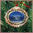 White House 2010 South Portico Ornament