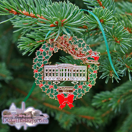 2011 secret service holiday ornament