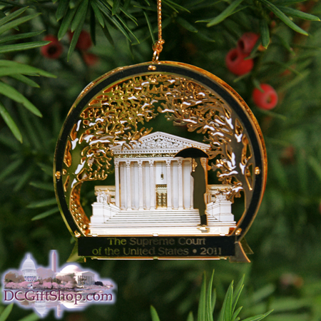 2011 Supreme Court Ornament