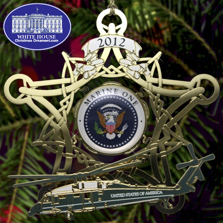 2012 White House Holiday Ornament