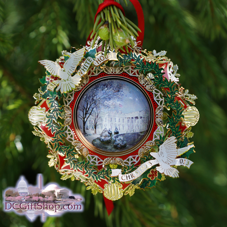 The White House 2013 Woodrow Wilson Ornament