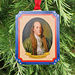 Silence Dogood Holiday Ornament