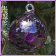 "3"" Purple Haze Glass Optic Ball"