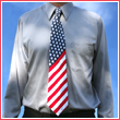 The USA Flag Tie