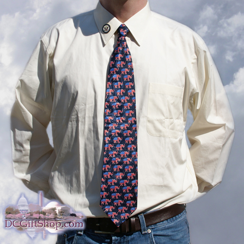 Republican Party Neck Tie