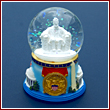 Abraham Lincoln Musical Snow Globe