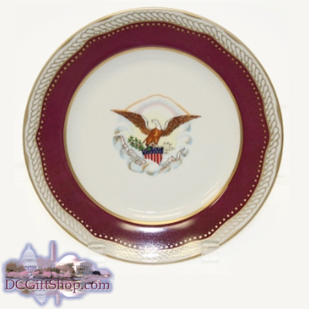 Abraham Lincoln Presidential China Dinner Plate