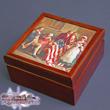 Betsy Ross American Flag Keepsake Box