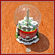 Large Washington DC Musical Snow Globe