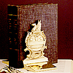George Washington's Coat of Arms Bookends