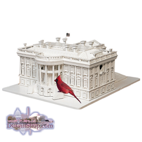 The White House Birdhouse