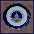 U.S. Capitol Souvenir Plate