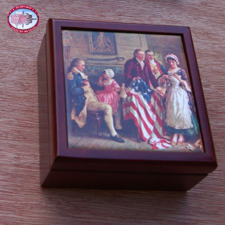 We the People Keepsake Box