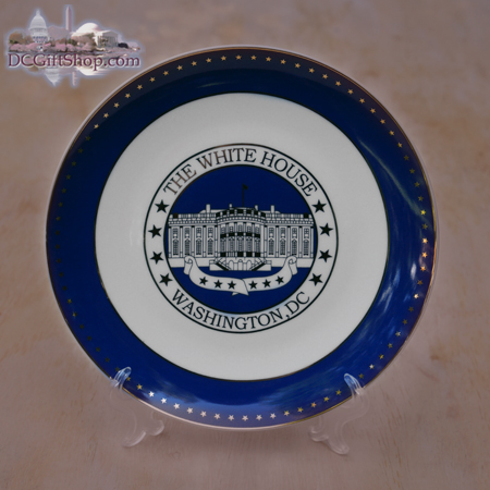 The White House Souvenir Plate