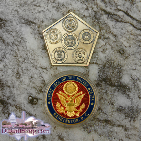 The Great Seal and Armed Forces Coin Set