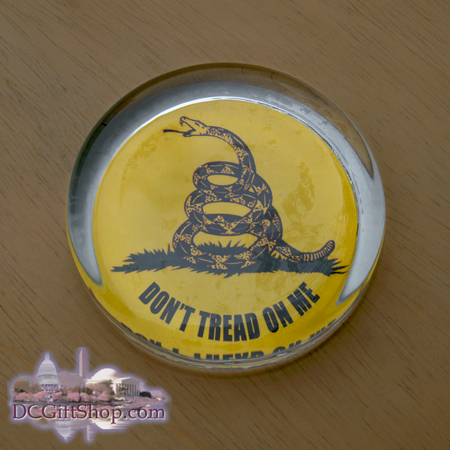 Don't Tread on Me Paperweight