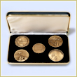 The Washington, DC Military Monument Coin Set