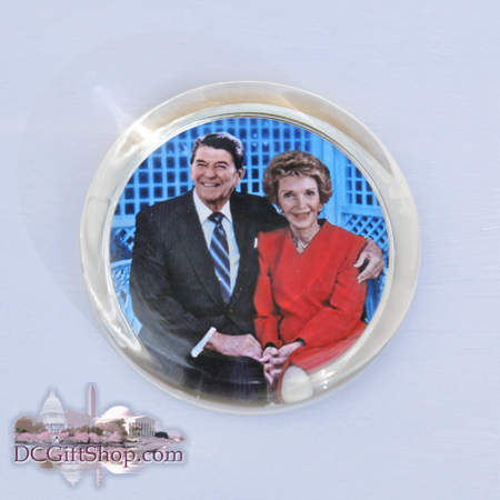 Ronald and Nancy Reagan Paperweight