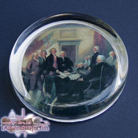 Signing of the Declaration of Independence Paperweight