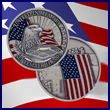 Commemorative United In Memory Eagle Coin