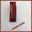 White House Executive Pen Set - Wood Finish