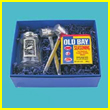 4 Piece Pewter Old Bay Crab Kit