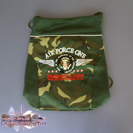 Air Force One Camouflage Bag