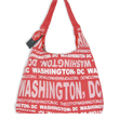 Washington DC Red and White Bag