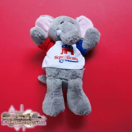 Republican Party Stuffed Toy Elephant
