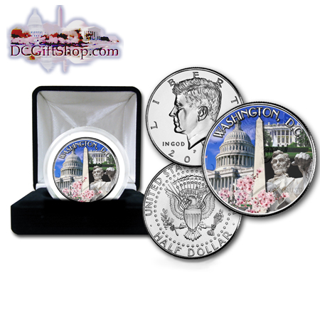 Washington DC Commemorative Half Dollar Coin