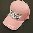 Pink Kamila Harris Golf Cap