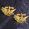 Gold Eagle Cufflinks