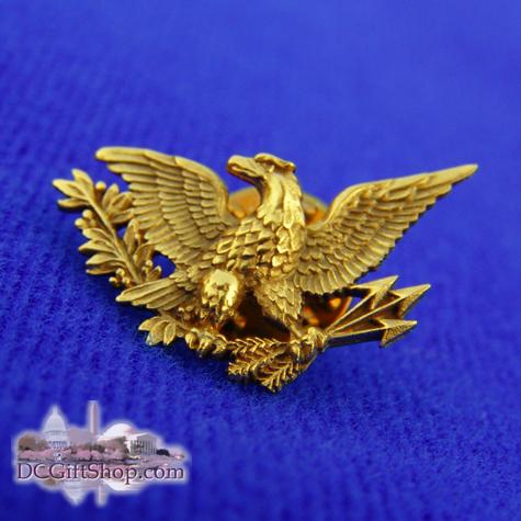 American Eagle Gold Tie Tack