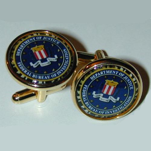 FBI Cufflinks