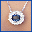 Hope Diamond Pendant