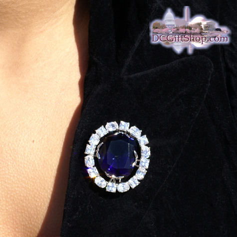 Hope Diamond Pin