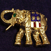 Republican Elephant Pin