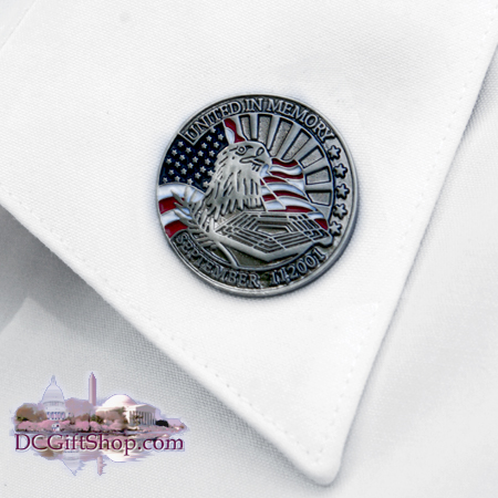 United In Memory Lapel Pin
