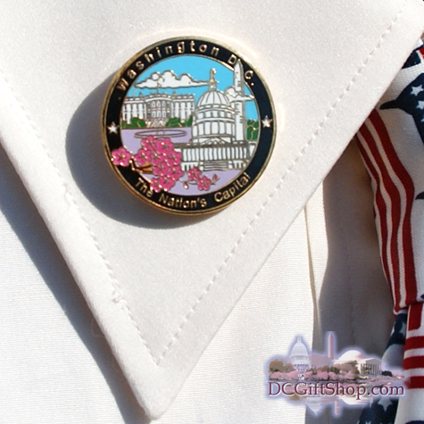 Washington DC Pin - A Nation's Capital