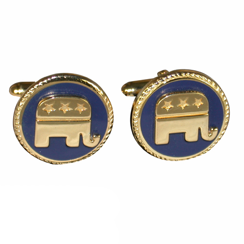 RNC Gold-Plated Cuff Links