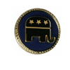 RNC Gold-Plated Lapel Pin/Tie Tac
