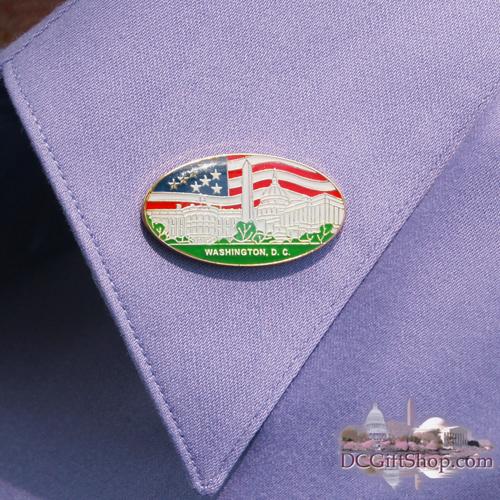 Washington DC Souvenir Pin