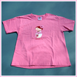 Woman's Fitted Cherry Blossom Doll T-Shirt