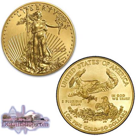 2012 1oz Gold American Eagle Coin