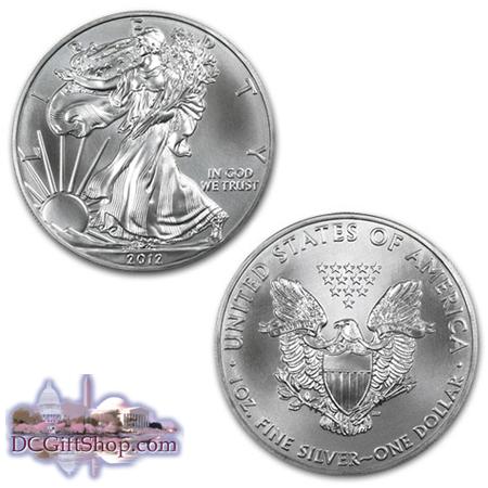 2012 1oz Silver American Eagle Coin