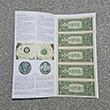 Uncut US Currency Dollar Sheet