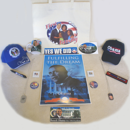 Barack Obama 56th Presidential Inauguration Family Pack
