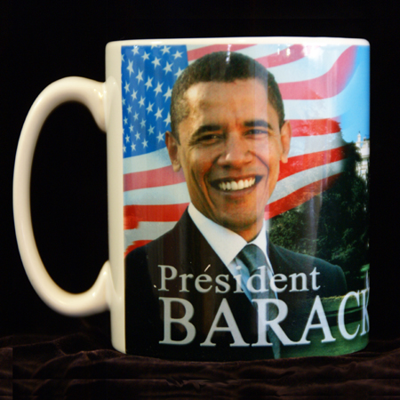 Barack Obama Keepsake Inaugural Coffee Mug