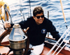 Kennedy USCG Yacht Art Print