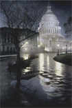 Liberty's Light U.S. Capitol Building Print